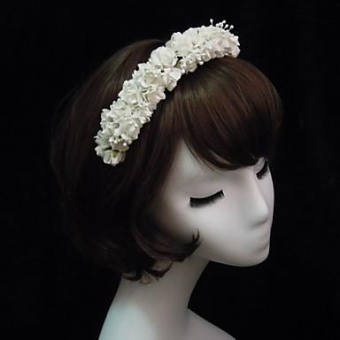 Kristal / Kumaş / Kağıt  -  Tiaras / Headbands 1 Düğün / Özel Anlar / Parti / Gece Başlık