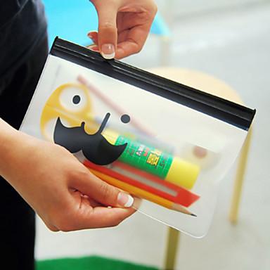Πολλαπλών χρήσεων μουστάκι Pattern διαφανείς σακούλες Ziplock