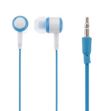 Extreme Deep Bass Stereo Earphone with Soft and Comfortable Earcap for iPad/iPhone/iPod(Blue)