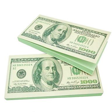 Dolar kendiliğinden yapışan notu