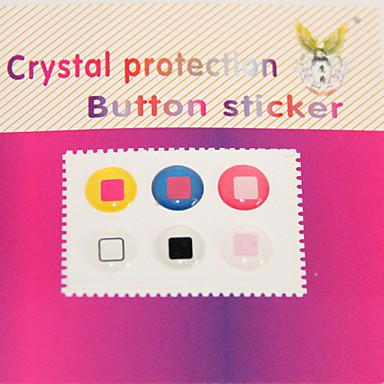Home Button-pegatina para el iPhone / iPad / iTouch (pack de 6)