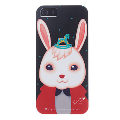 ROCK Rabbit Xiaoji Pattern Hard Case for iPhone 5/5S