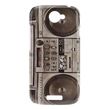 Style Radio caso duro del modello Retro per HTC One S