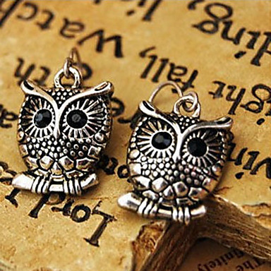 Women's Drop Earrings Fashion Alloy Owl Animal Jewelry Party Daily