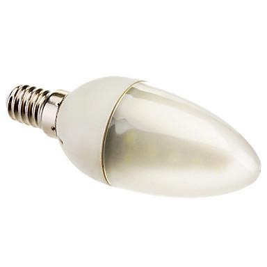E14 - 2 W- C - Ljus glödlampor (Kall Vit 130 lm AC 85-265