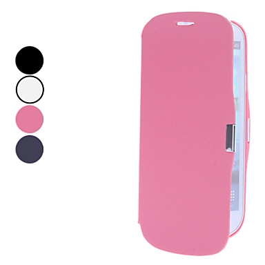 Solid Color PU Leather Full Body Case for Samsung Galaxy S3 I9300 (Assorted Colors)