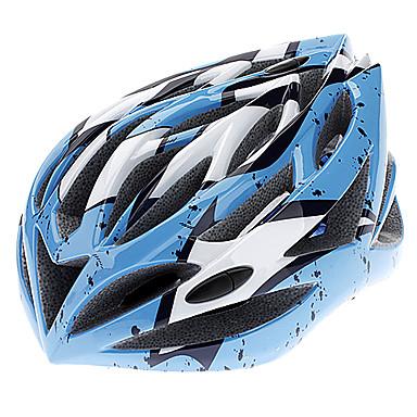 OQ Sport 009 PC-og EPS Materialer justerbar assorterede farver cykelhjelme med Bag (28 Vents)