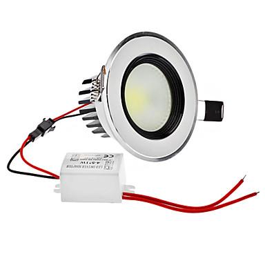 Dimmable 5W 1-400LM 5800-6300K Natural White Light COB LED bombilla de techo (220)