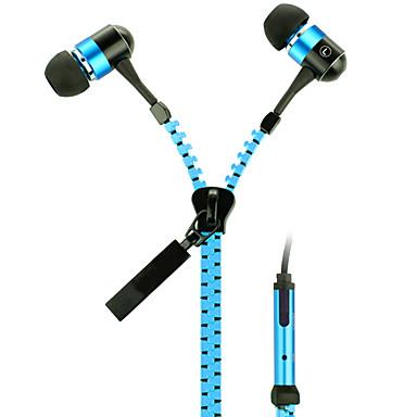 우편 번호 - 귀 헤드폰, 오렌지 & 블루, KT-11B