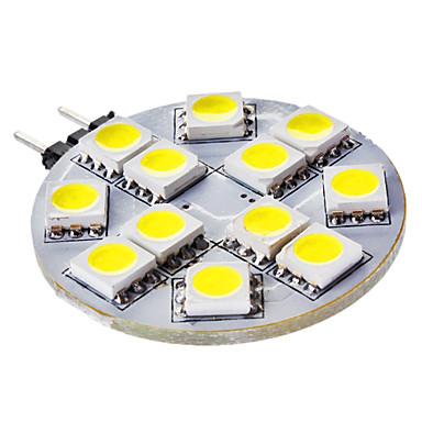 3W G4 LED Bi-pin Işıklar 12 SMD 5050 50 lm Doğal Beyaz DC 12 V