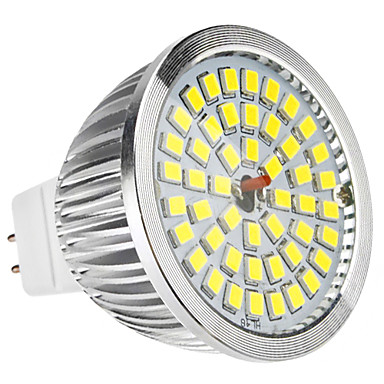 6w gu5.3 (mr16) led spotlight mr16 48 smd 2835 500-600lm doğal beyaz 6500k dc 12 ac 12v