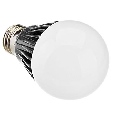 Dimmable E27 5W 100-400LM 5800-6500K Natural White Light Negro Shell LED Bulbo de la bola (220-240V)