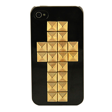 Rivers Double Cross Noir Etui rigide pour iPhone 4/4S