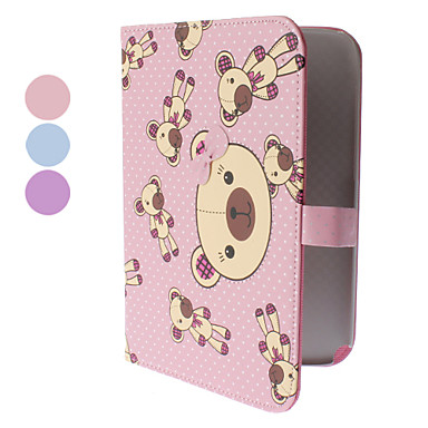 Bear Pattern PU Leather Case with Stand for Samsung Galaxy Note 8.0 N5100 (Assorted Colors)