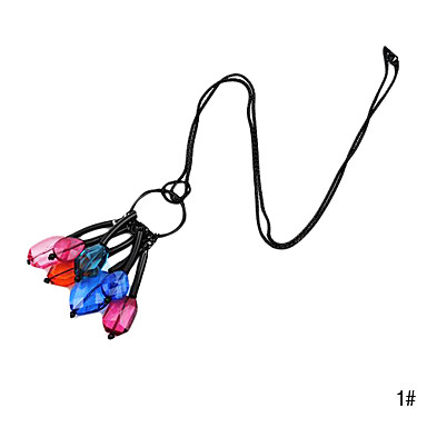 Eruner®Acrylic Crystal Alloy Necklace(Assorted Color)