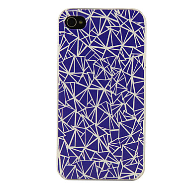 PC Geometry Pattern Hard Case for iPhone 5/5S