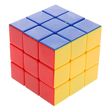 DS Colorful 3x3x3 Brain Teaser Magic IQ Cube Complete Kit