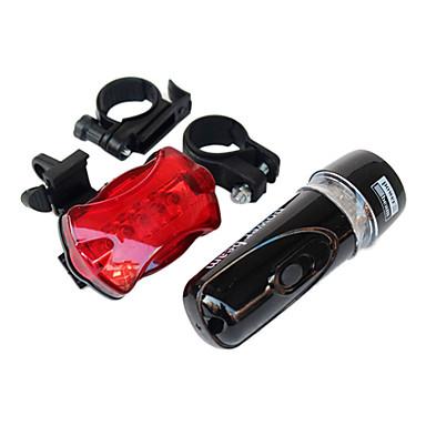 Bisiklet Ön Işığı Bisiklet Arka Işığı LED Bisiklet Su Geçirmez arka AAA Lümen Batarya Bisiklete biniciliği