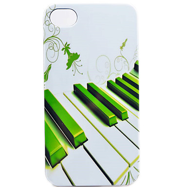 Avaimet Piano Pattern takakannen iPhone 4/4S