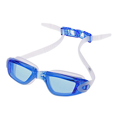 G3200 Unisex Overlength Anti-Fog Swimming Goggles(Blue)