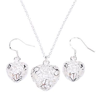 Per donna Argento sterling / Argento Parure di gioielli Orecchini / Collane - Di tendenza Set di gioielli Per Feste / Occasioni speciali