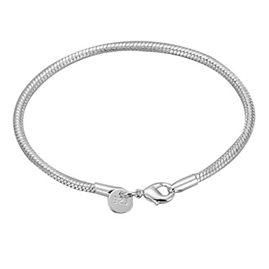 Bracelet Bangles - Ladies Bracelet Jewelry Silver For Christmas Gifts Daily