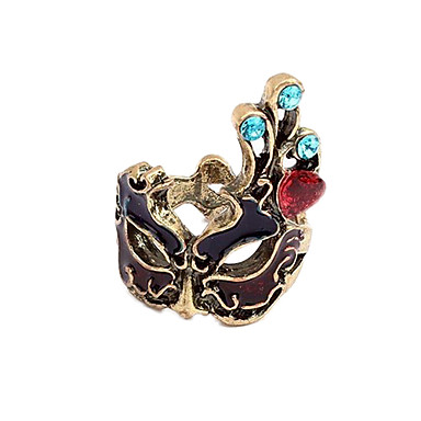 Yüzükler Parti / Günlük Mücevher Bakır Kadın İfadeli Yüzükler Altın