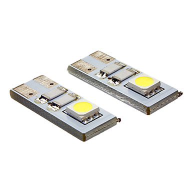 20-80 lm LED Spot Işıkları 2 led SMD 5050 Serin Beyaz AC 12V