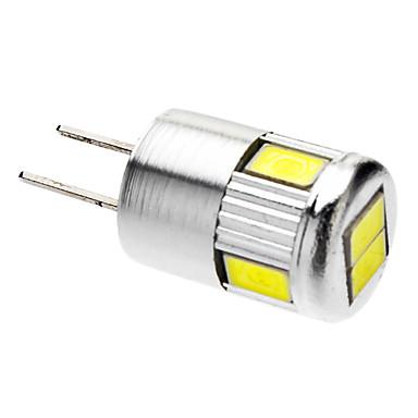 220-250 lm G4 LED Spot Işıkları 6 led SMD 5730 Serin Beyaz AC 12V