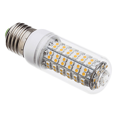 E27 5w 108 3528 smd 410lm 3000K sıcak beyaz ışık led ampul mısır (220v)
