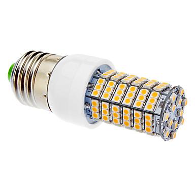 LED Küre Ampuller 138 led SMD 3528 Sıcak Beyaz 580-600lm 3000K AC 220-240V