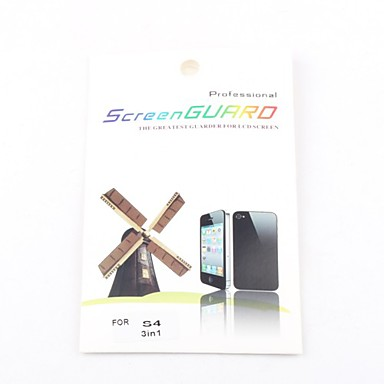 3X Clear Front Screen Protector for Samsung Galaxy S4 I9500 Screen Protectors for Samsung