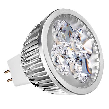 4W LED Spotlight leds Dimmable Warm White 350-400lm 3000K AC 12V