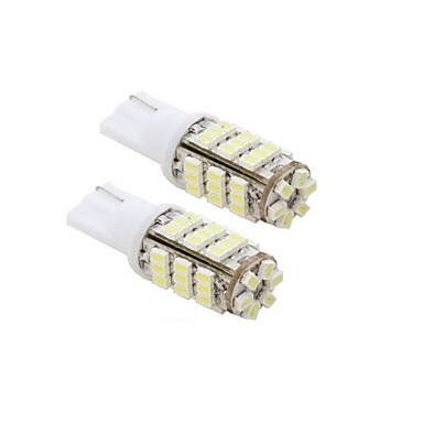 Beyaz - 2 adet 42-SMD T15 12V + STICKER 921 912 906 Yedek Işık Ampüller
