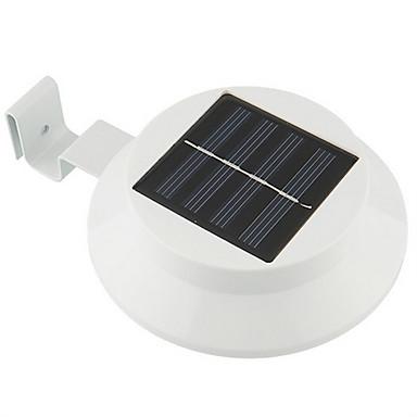 3 Güneş Enerji Tasarrufu Bahçe Yard Çit Duvar Yol Işık Açık lambası LED