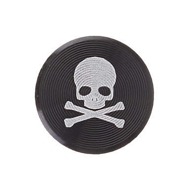 Skull Print Metal Home Button Sticker for iPhone/iPad/iPod