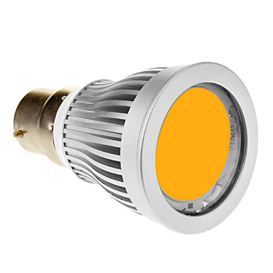 SENCART 600-630lm B22 LED-spotlampen 1 LED-kralen COB Warm wit 85-265V