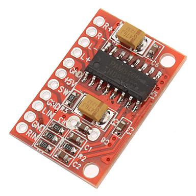 2 kanal ile 3w yüksek güç mini dijital amplifikatör kurulu