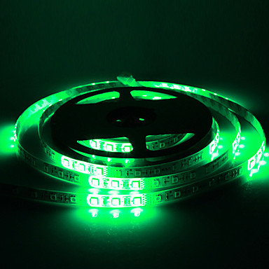 Waterproof 5M 30W 54x5050SMD RGB Light LED Strip Light (DC12V)