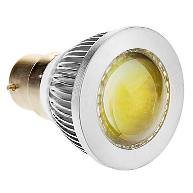 B22 Lâmpadas de Foco de LED 1 COB 270-300 lm Branco Frio 6000-6500 K AC 85-265 V