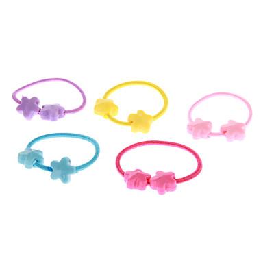 For Kids (5 adet) Moda renkli Saç Kravatlar