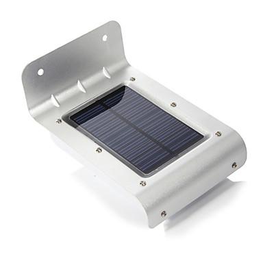 Açık Güneş Enerjisi 16-LED Hareket Sensörü Dedektörü Güvenlik Bahçe Işık Lambalar