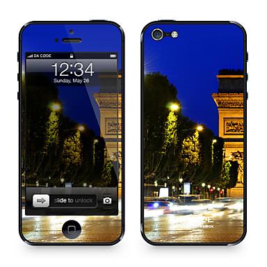 1 parça için Çizilmeye Dayanıklı City Şehir Manzaralı Tema iPhone SE/5s/5