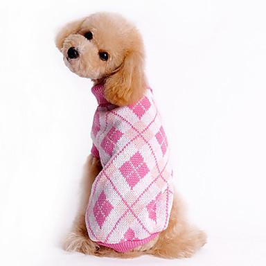 Kutya Pulóverek Kutyaruházat Pléd / takaró Kék Rózsaszín Jelmez Háziállatok számára