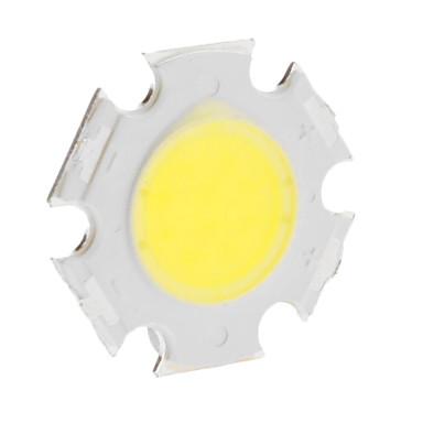 Diy 5 w 420-500lm 300ma 6000 k soğuk beyaz ışık entegre led modülü (15-17 v)
