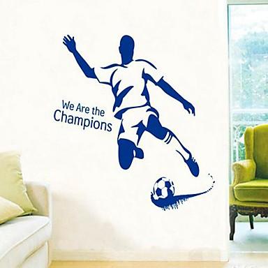 Autocolante de Perete Decorative - Persoane de perete pentru autocolante Timp Liber / Sporturi Sufragerie / Dormitor