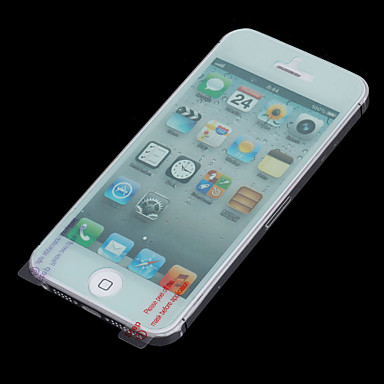 MOCOLL Front + Back Anti-Broken Screen Protector for iPhone 5 - Transparent