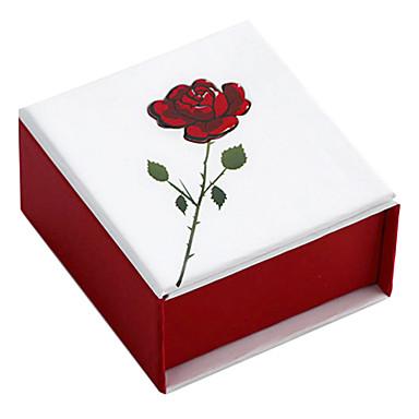 Takı Kutusu Kağıt Kırmızı
