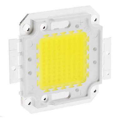 Diy 80 w 6350-6400lm 2400ma 6000-6500 k soğuk beyaz ışık entegre led modülü (30-36 v)