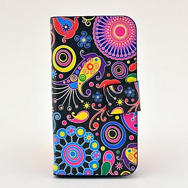 teste padrão colorido de corpo inteiro caso TPU couro para 4/4s iphone